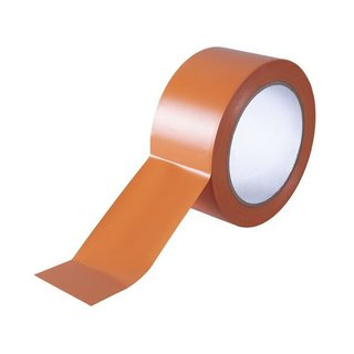 UV-PVC-Band glatt orange 30 mm