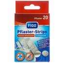 20er Pflaster-Strips Transparent